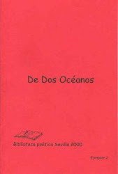 "2000 - My poems in the book ""Two Oceans"" in Málaga, Spain."