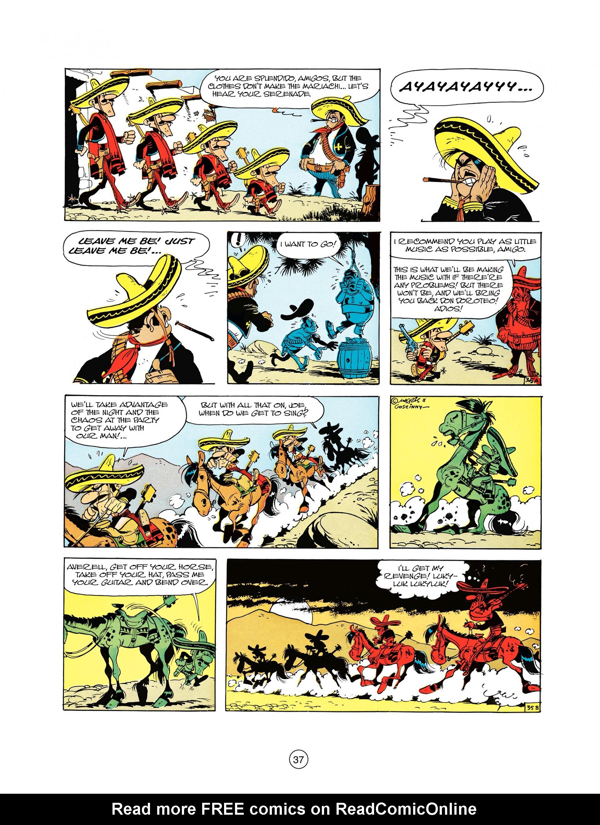 Read online A Lucky Luke Adventure comic -  Issue #10 - 37