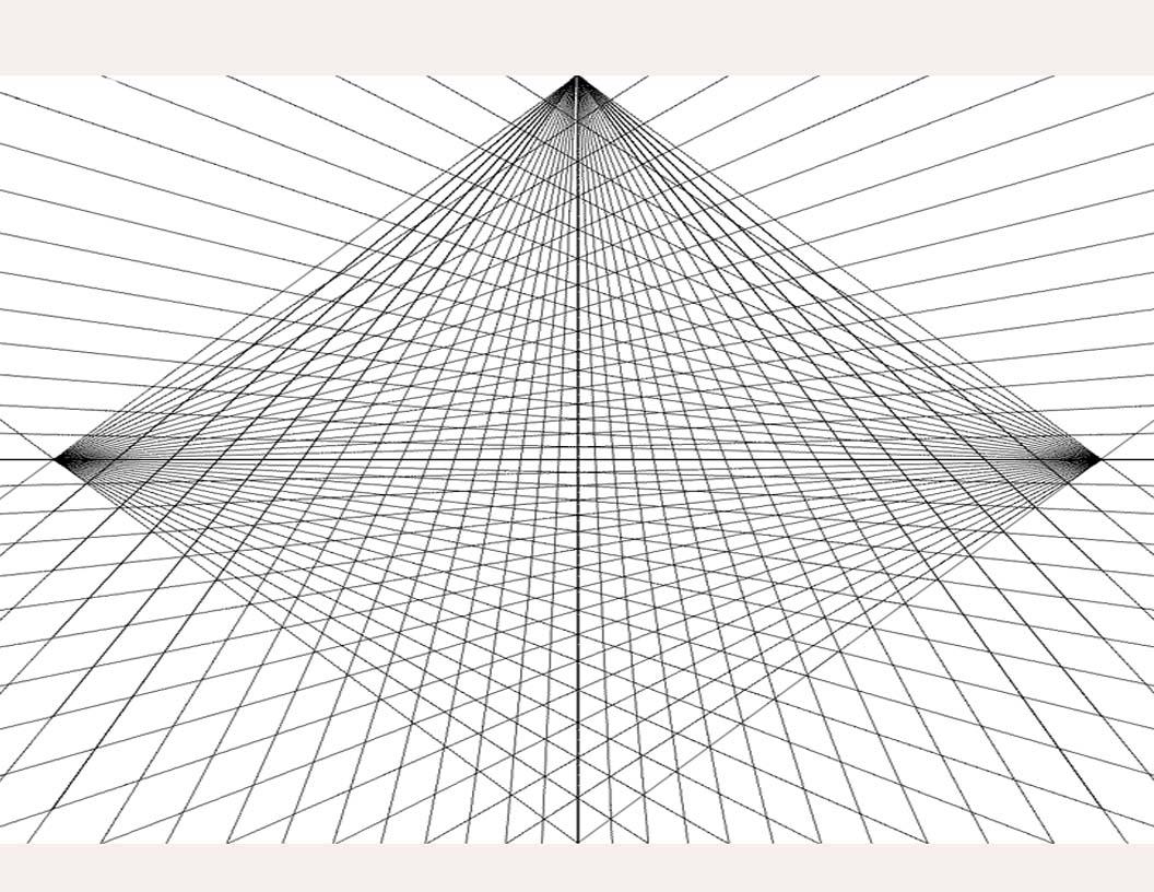The Helpful Art Teacher Three Point Perspective Worm S Eye Vs Bird S Eye View