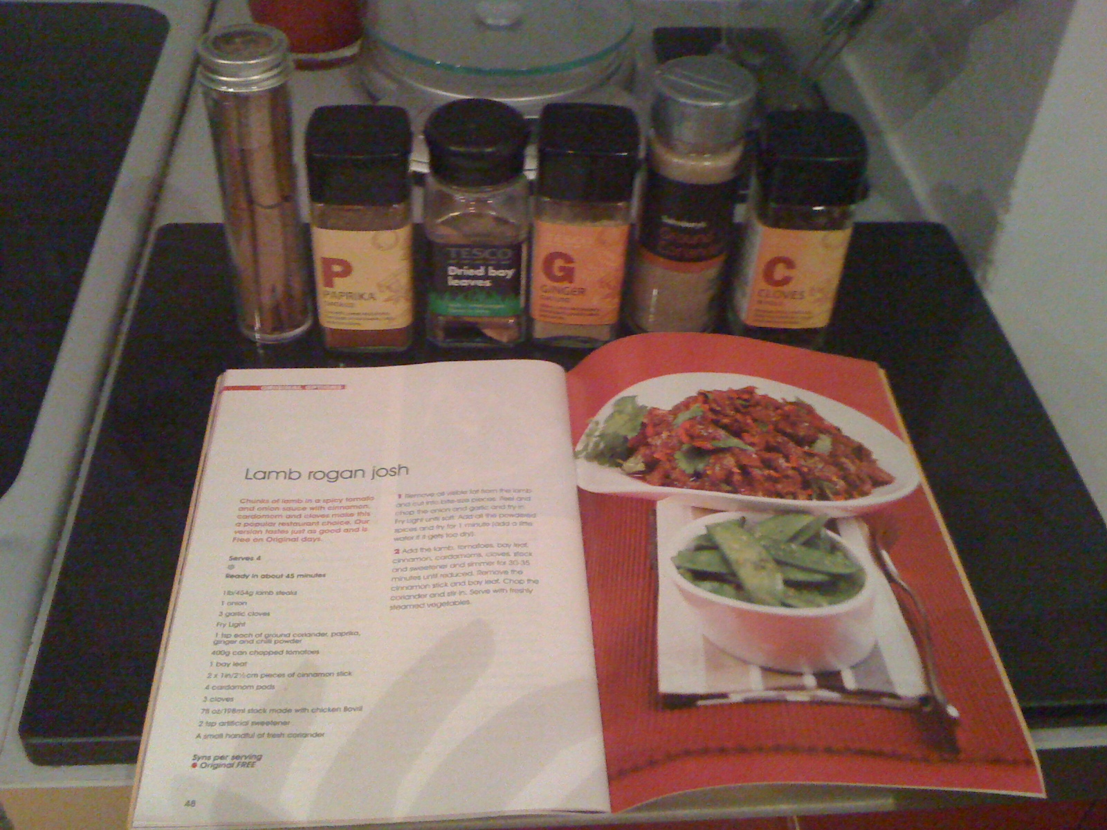 Making My First Curry Lamb Rogan Josh Flutter And Sparkle