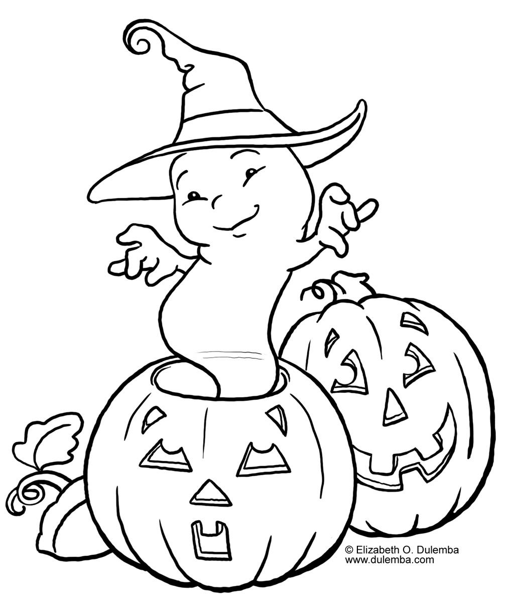 El Rincon De Delia Y Paula: Dibujos Para Colorear De Halloween