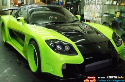 Alay's Blog: New MAZDA RX7 VEILSIDE FORTUNE 2010