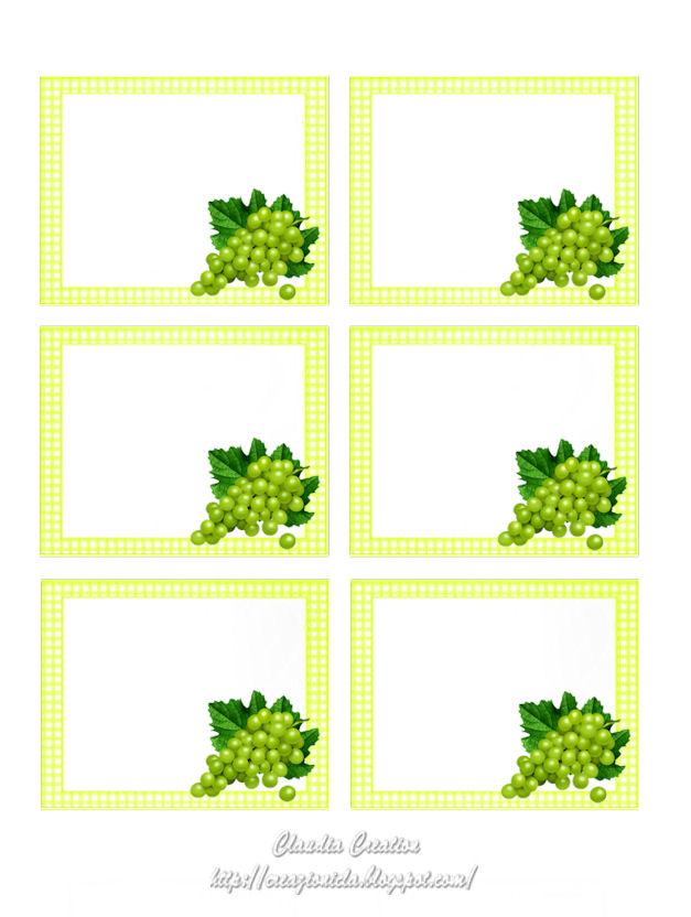 Favoloso il mio angolo creativo: Etichette per vino stampabili SH76