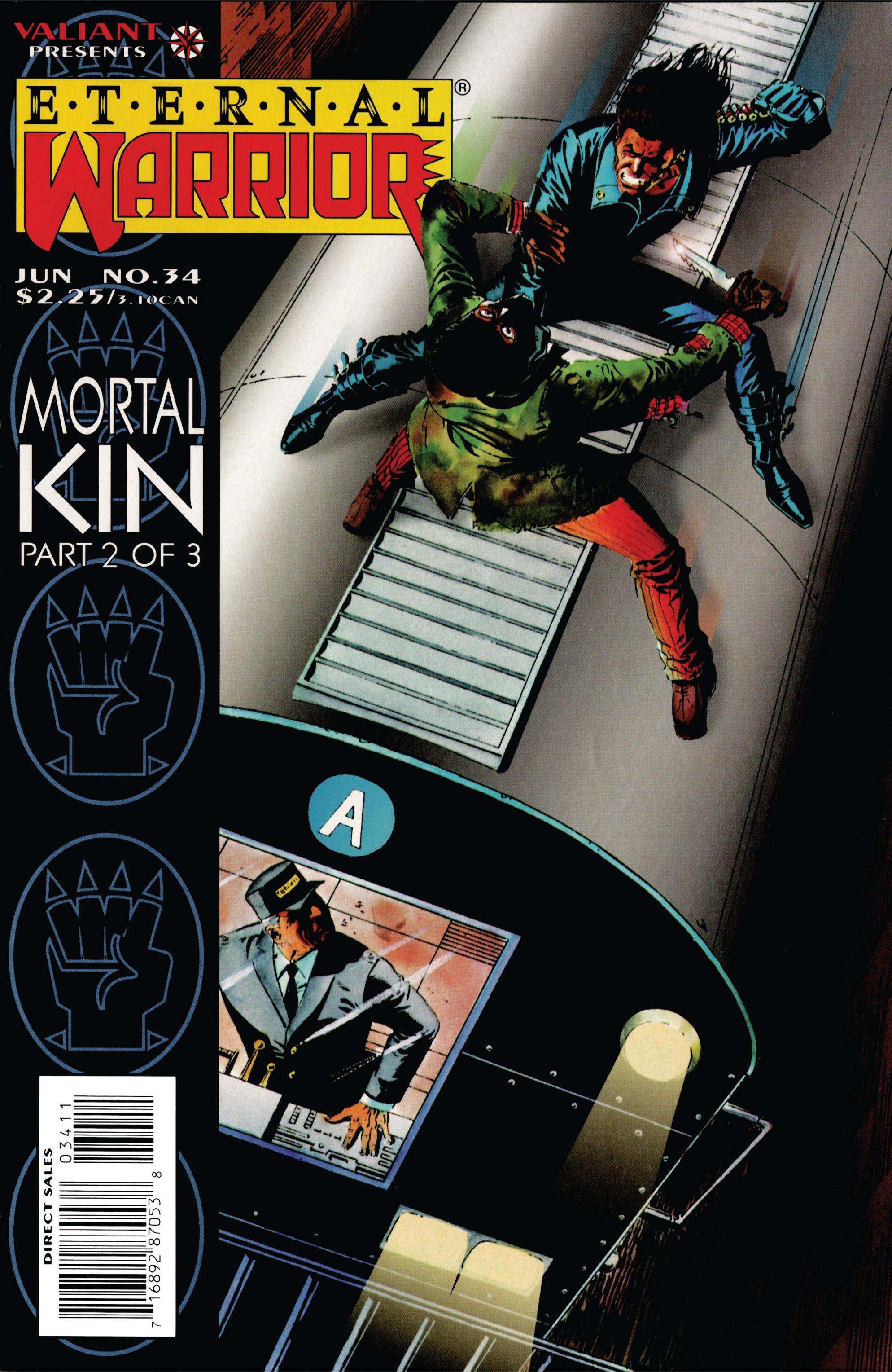 Read online Eternal Warrior (1992) comic -  Issue #34 - 1