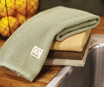 A Detail As Small As Dish Towels Can Update Your Kitchen. These, From  NapaStyle, Are Both Attractive And Organic.