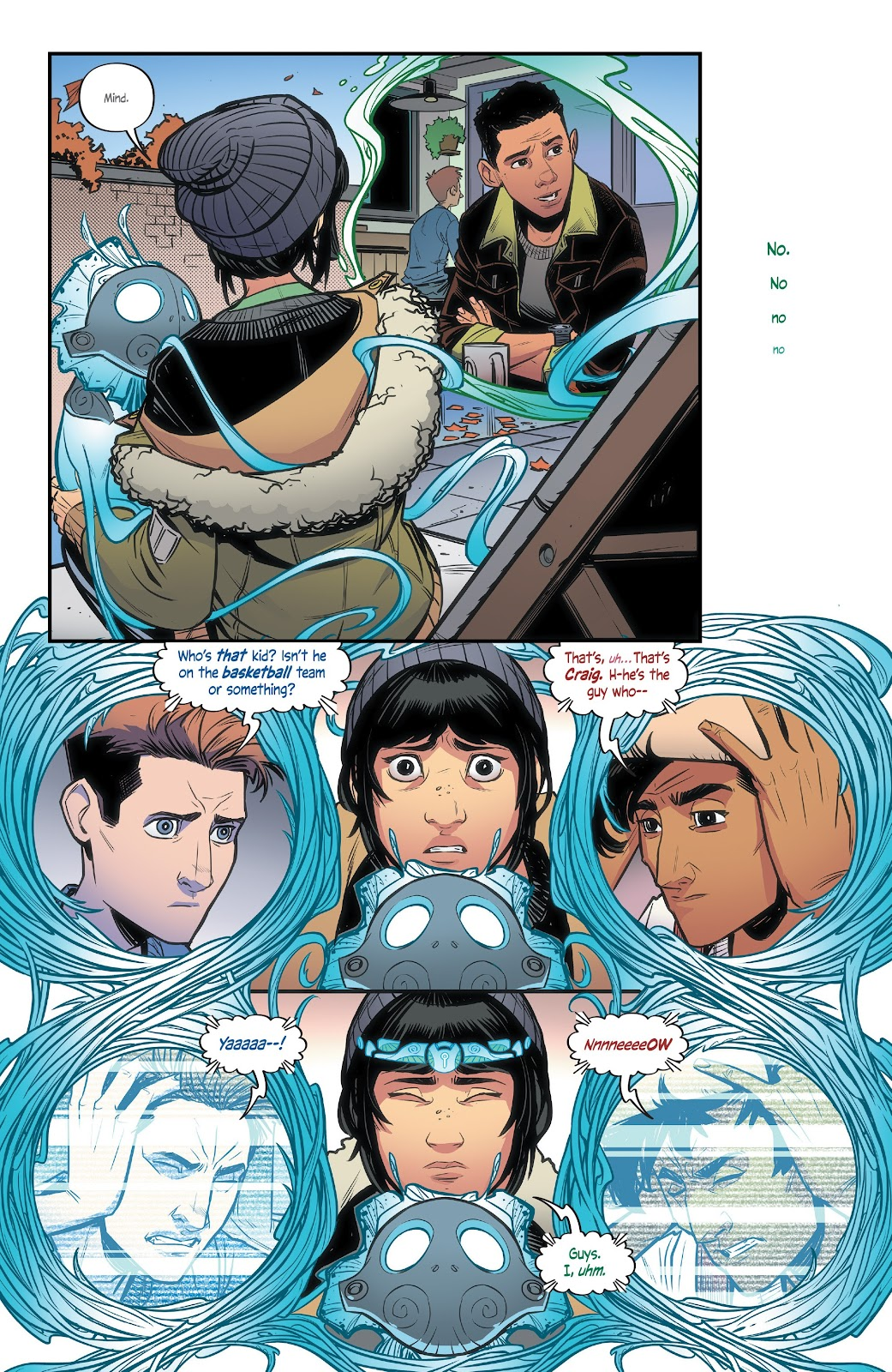 Read online Alienated comic -  Issue #3 - 8