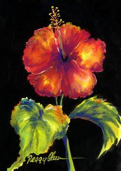 Red Baiduri Inherited The Painting From Peggy Chun
