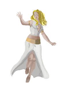 Artwork Athena Goddess Of Wisdom Model Sheet