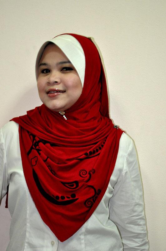 Shawl Nurfa Shawl Batik Anggun Amp Tudung Ariani