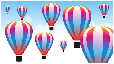 Membuat Gambar Balon Udara Dengan CorelDRAW