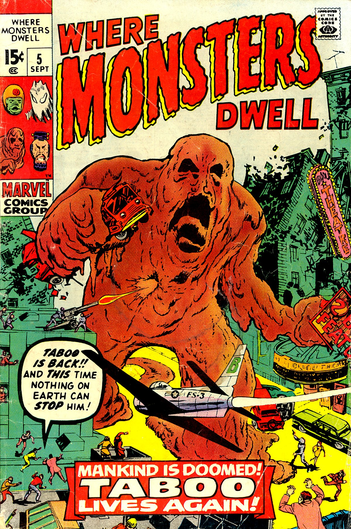 Where Monsters Dwell (1970) 5 Page 1