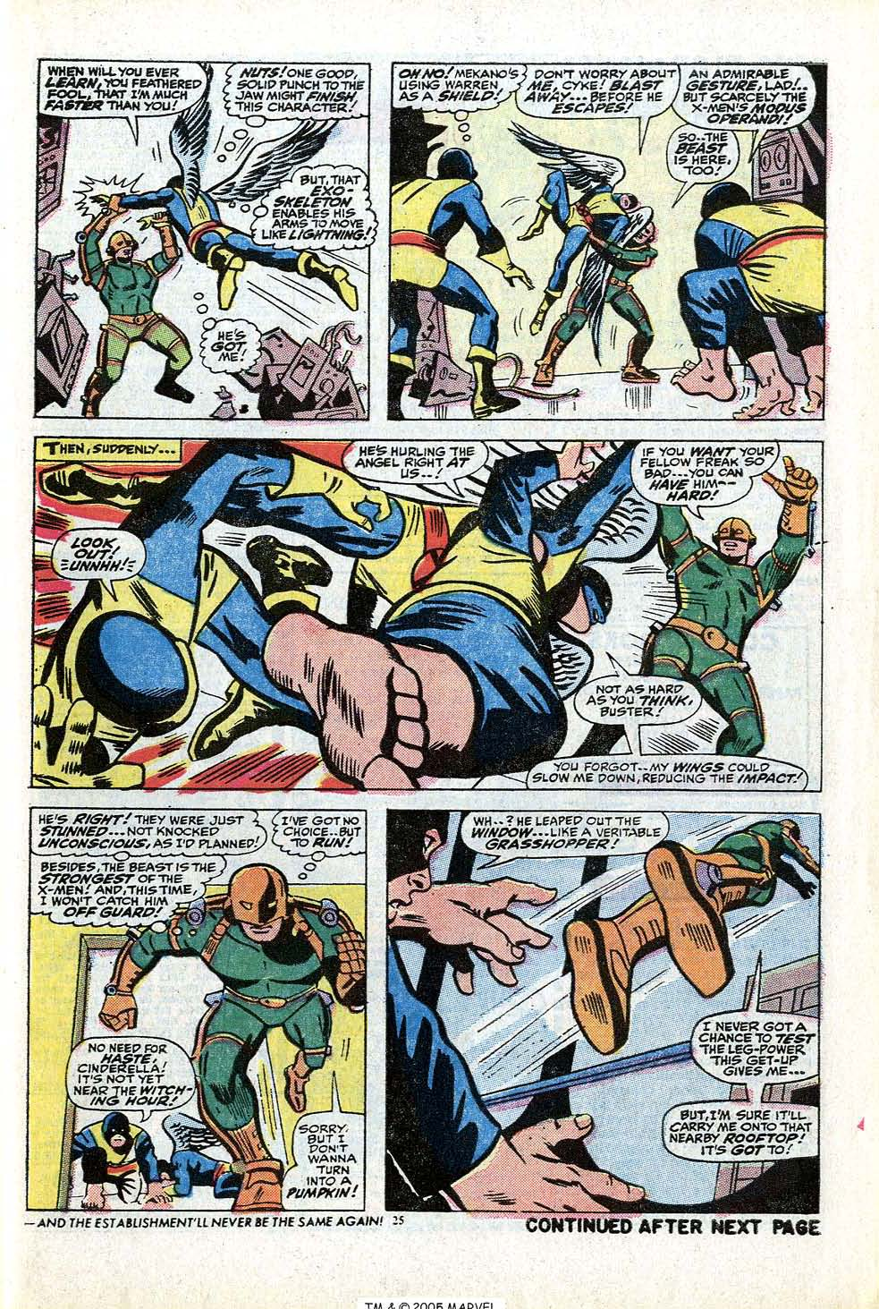 Read online Uncanny X-Men (1963) comic -  Issue #84 - 27
