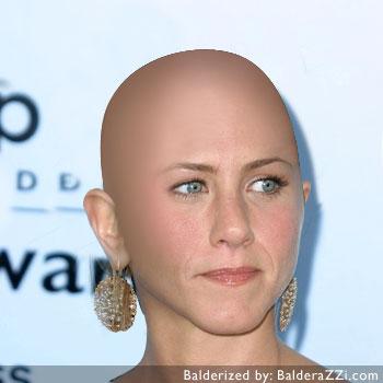 Jennifer anniston shaved valuable
