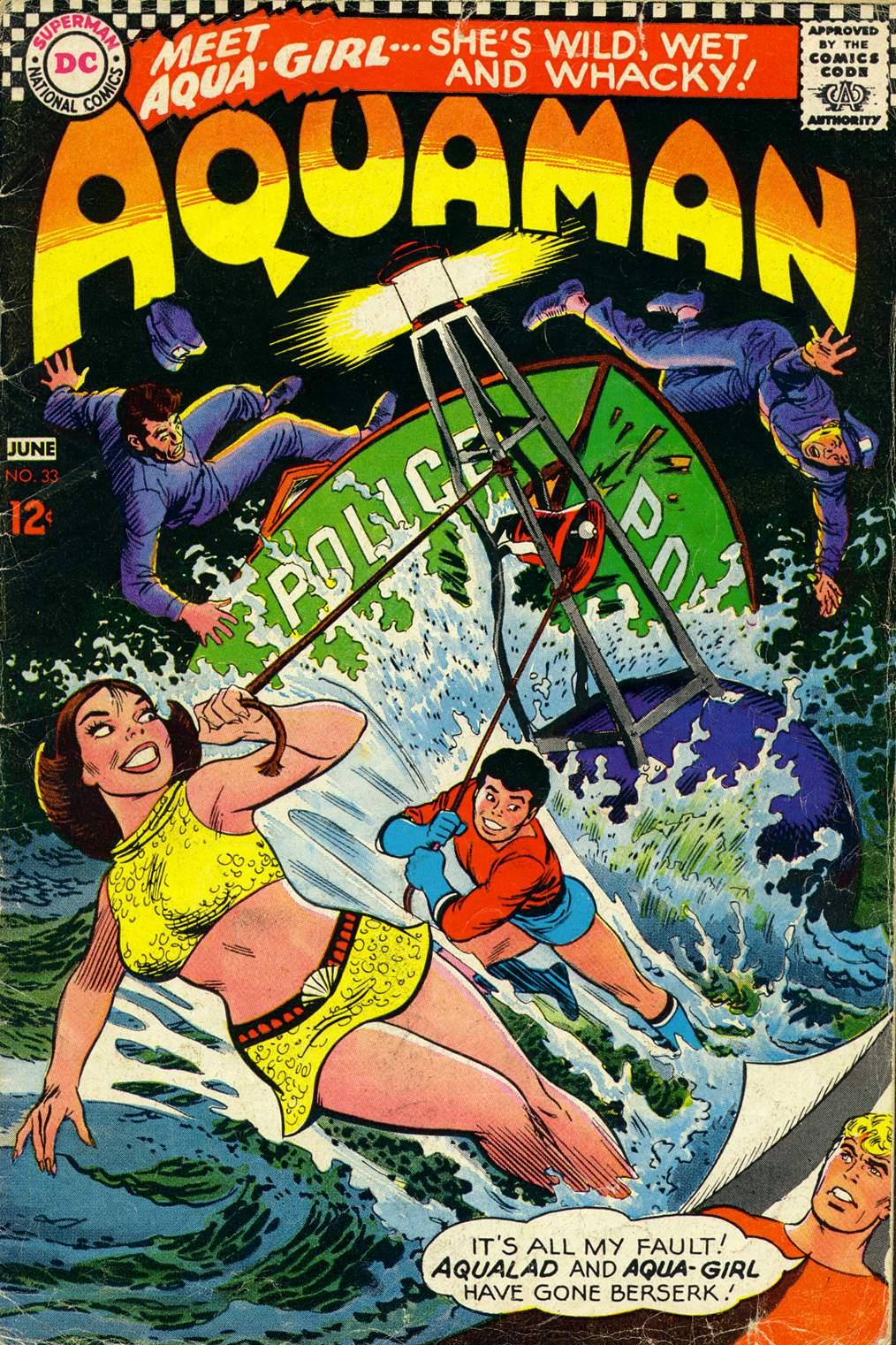 Aquaman (1962) issue 33 - Page 1