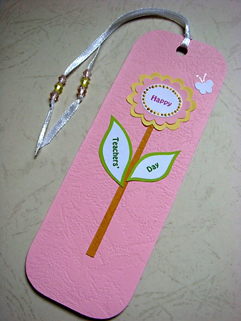 anilza beads  teachers day bookmarks
