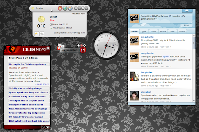 Move Over Screenlets - Opera Desktop Widgets Come To Town