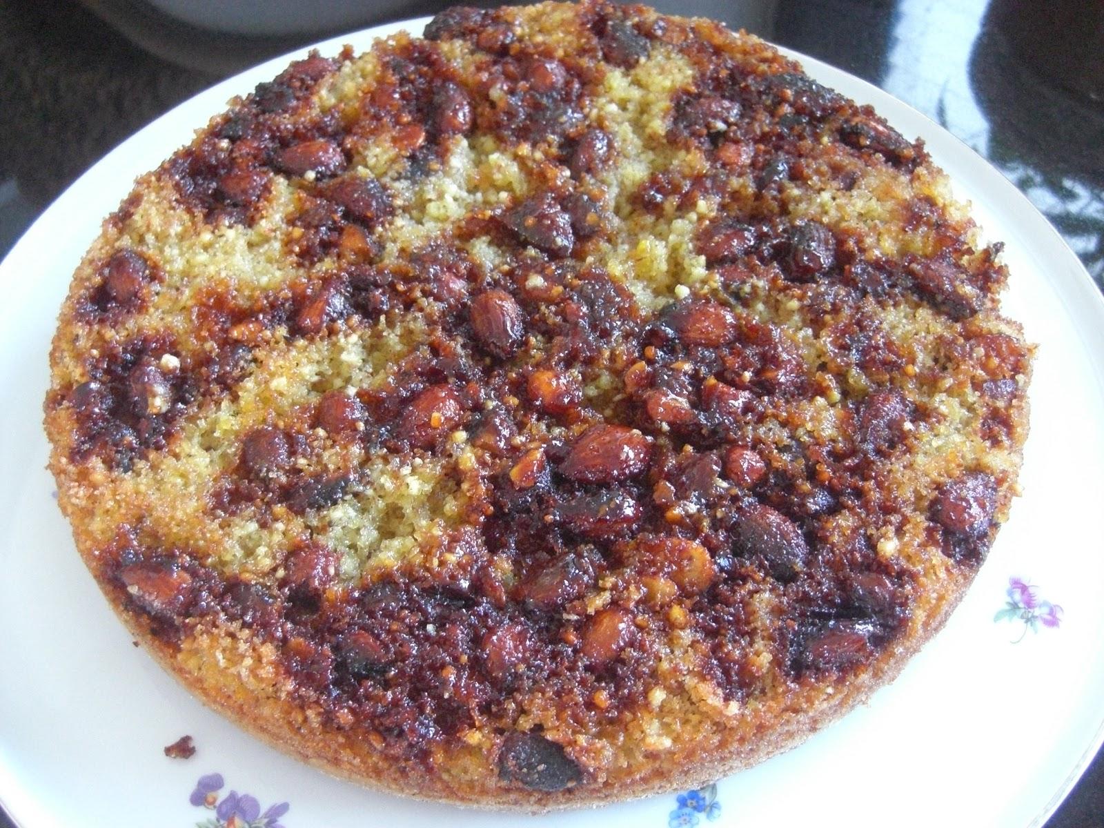Uberall Nirgendwo Gebrannte Mandel Torte