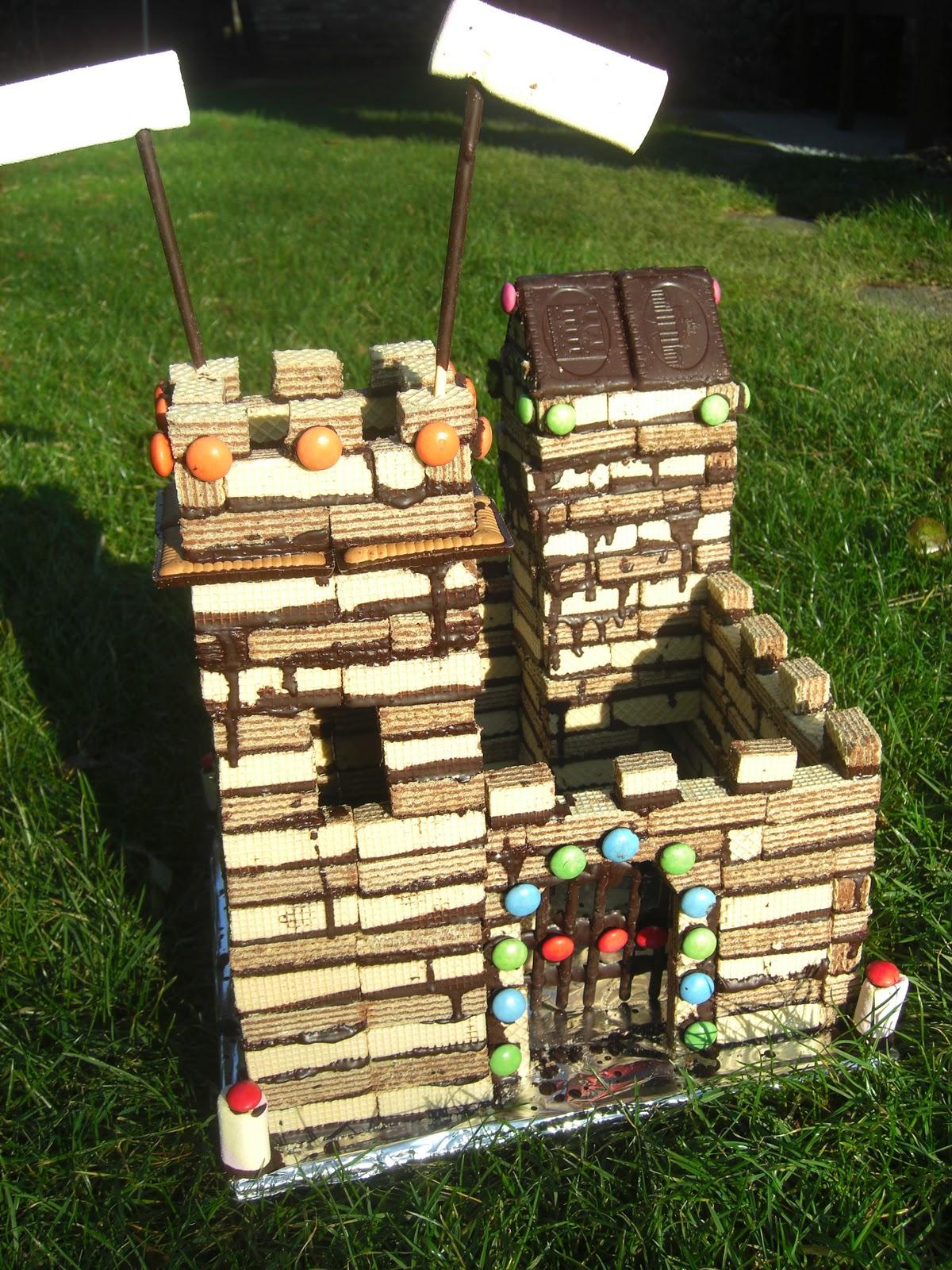 Uberall Nirgendwo Ritter Geburtstag Burg Kuchen