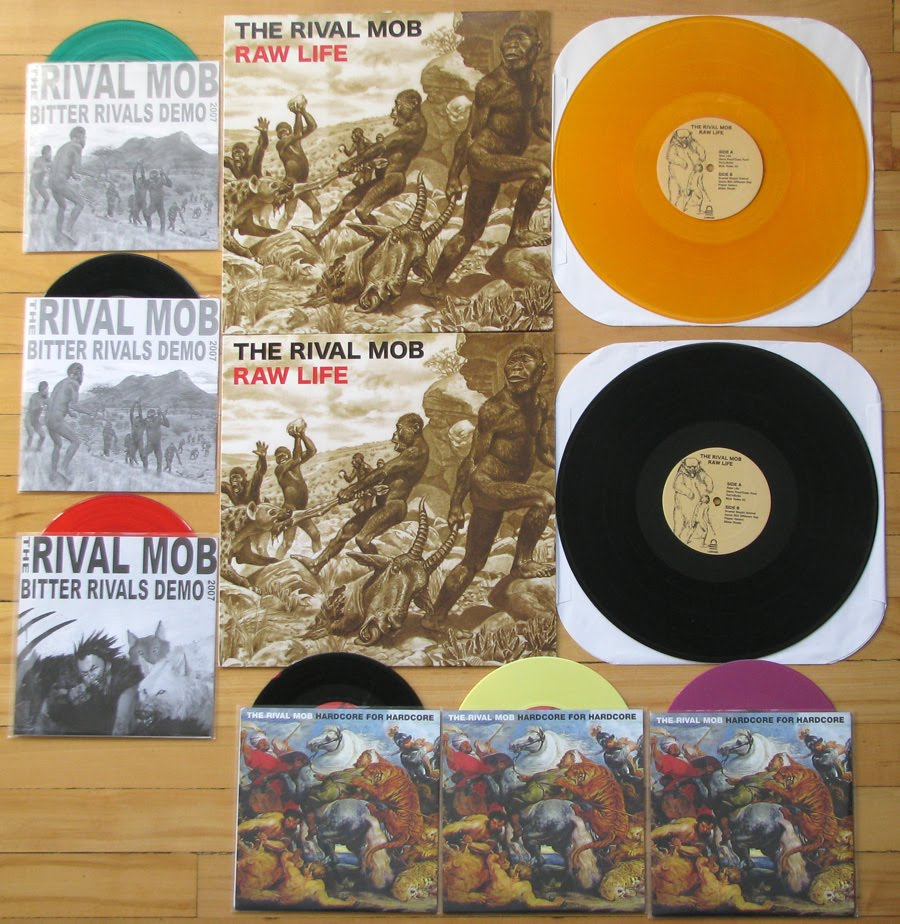 We Will Bury You The Rival Mob Vinyl Collection
