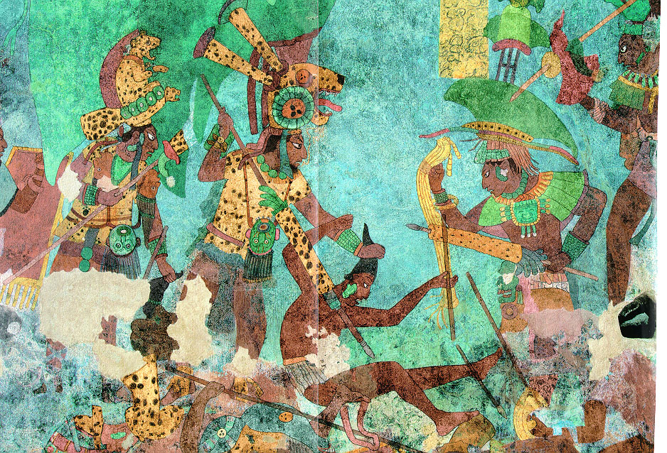 Ancient Civlizations: the Mayans: Military Confrontations