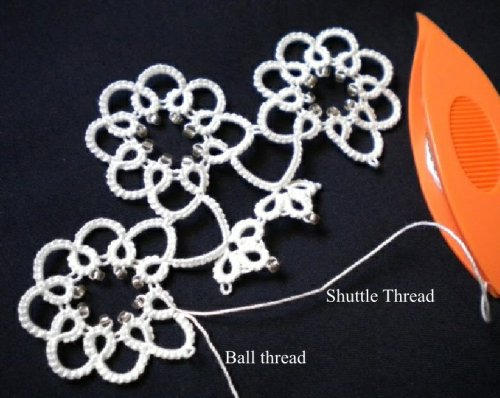 When To Use Shoe Lace Trick Tatting