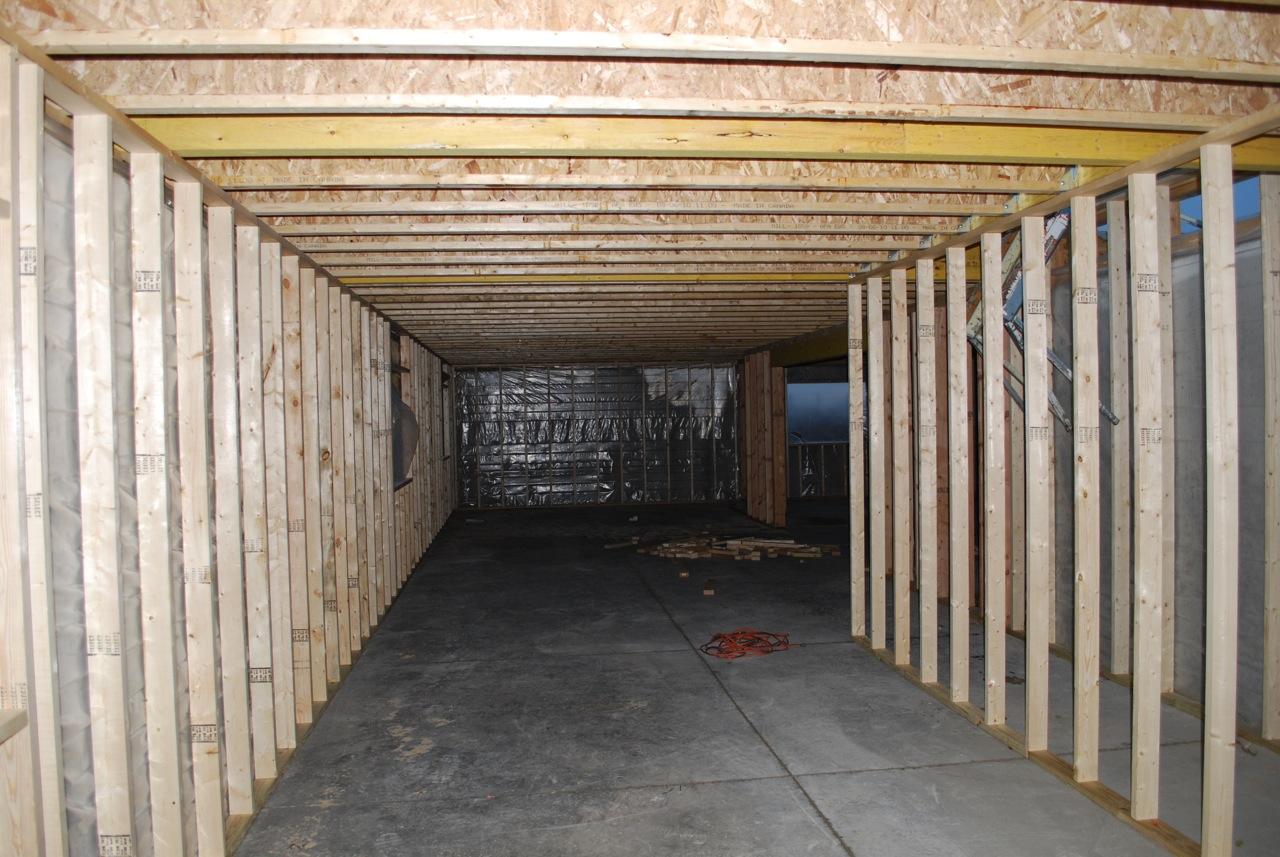 Ken's Iowa House: Basement Framing
