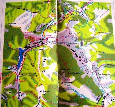 Harta Romaniei In Fotografii Drumetie Lacu Rosu Cheile Bicazului