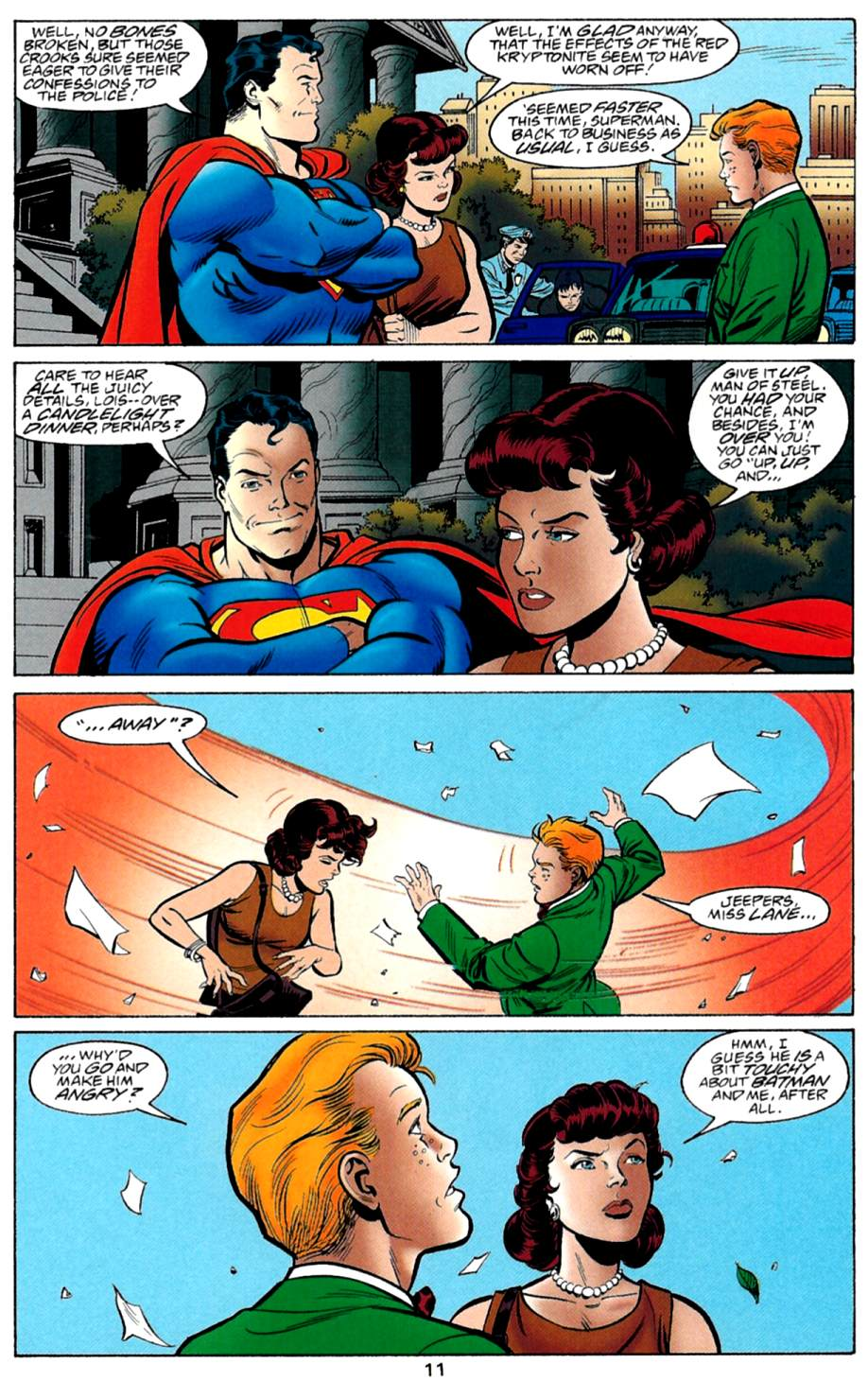 Read online Adventures of Superman (1987) comic -  Issue #560 - 12