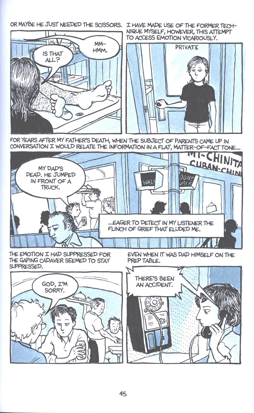 Read online Fun Home: A Family Tragicomic comic -  Issue # TPB - 52