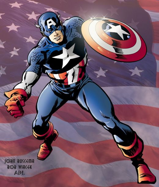 Top Ten Superhero Costumes, Comics Cube Style!