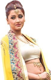 Rachana Banerjee dancing dress