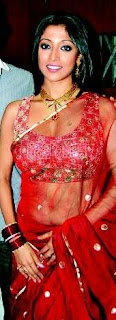 Paoli Dam hot in saree