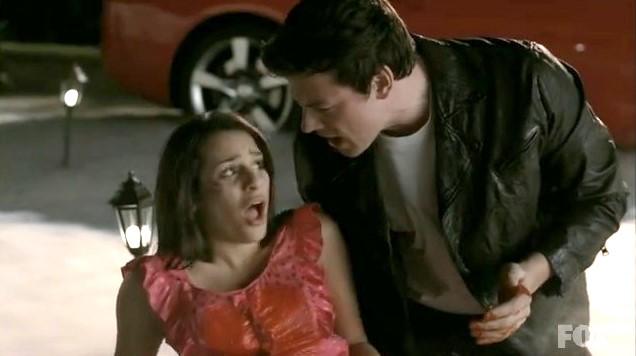 Glee Season 1 Episode 17: Bad Reputation   Tom + Lorenzo