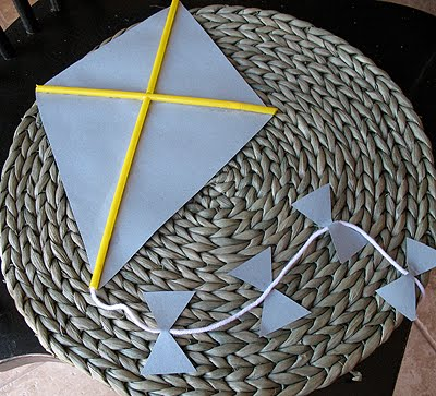 Idea Box Paper Kite Craft