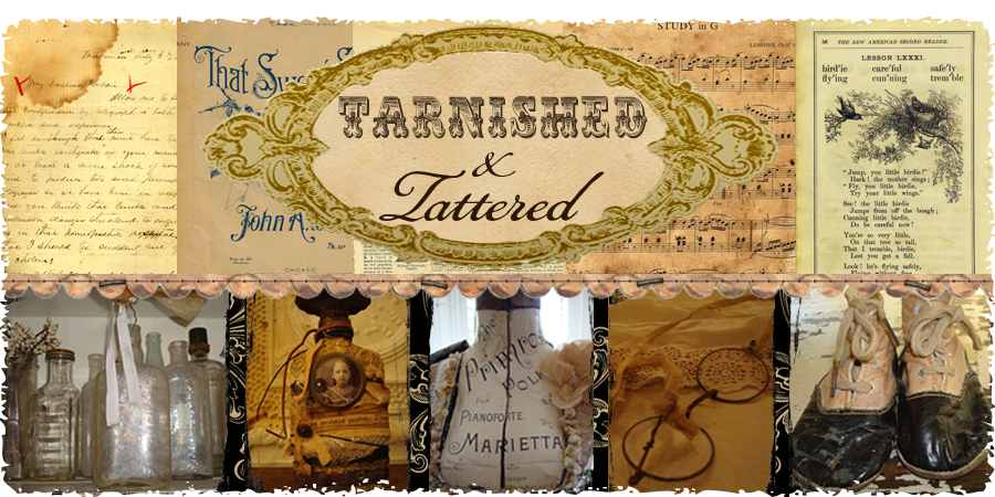 tarnished and tattered