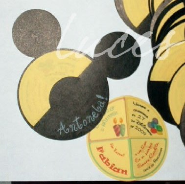 Luces Tarjetas De Invitación Mickey