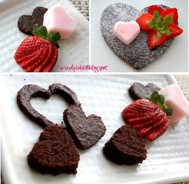 Table For 2 Or More Chocolate Strawberry Yogurt Cake