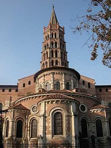 Arch St Sernin Toulouse France 1077 1119 Ce Romanesque