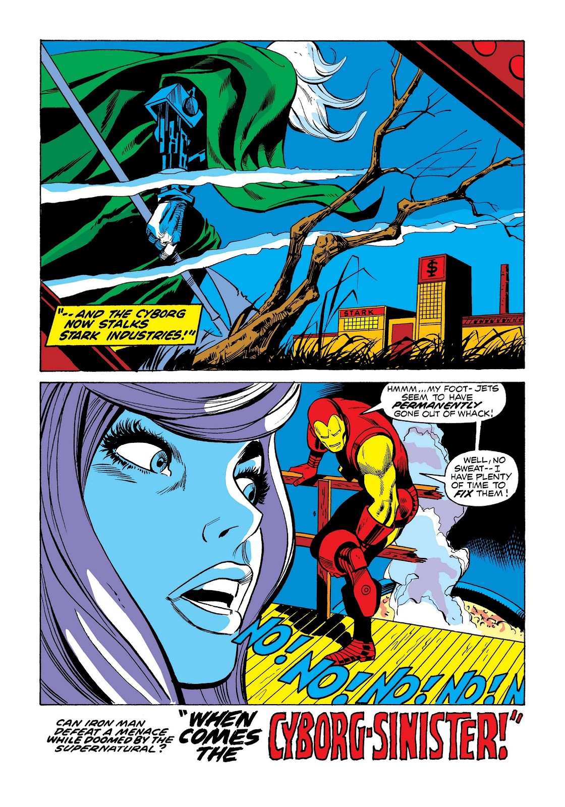 Read online Marvel Masterworks: The Invincible Iron Man comic -  Issue # TPB 8 (Part 3) - 51