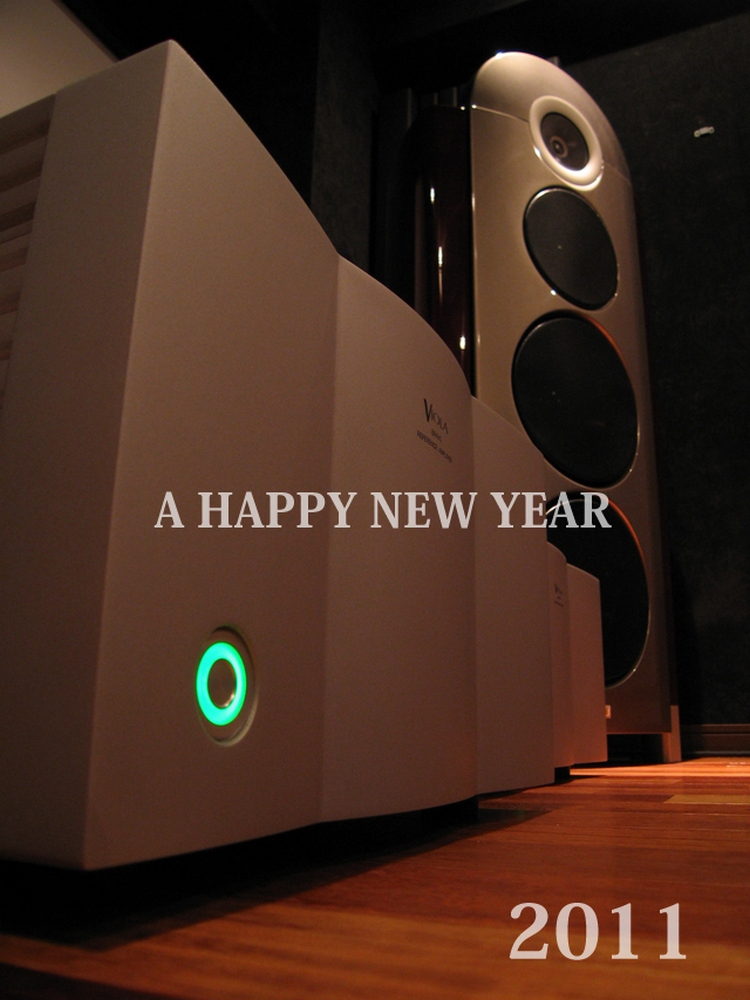 Wizard high end audio blog happy new year - Happy new year sound europe ...