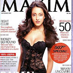 Raima Sen Stripped For Maxim