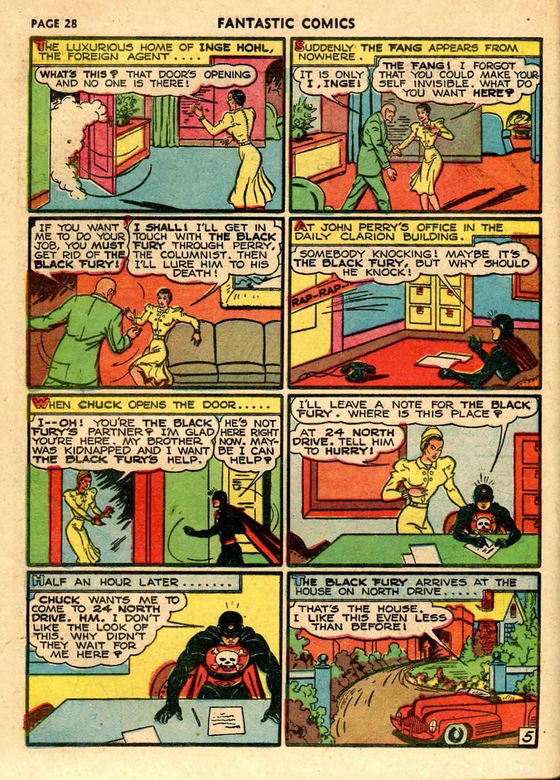 Read online Fantastic Comics comic -  Issue #21 - 30