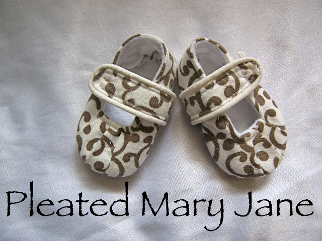 The Pleated Mary Jane