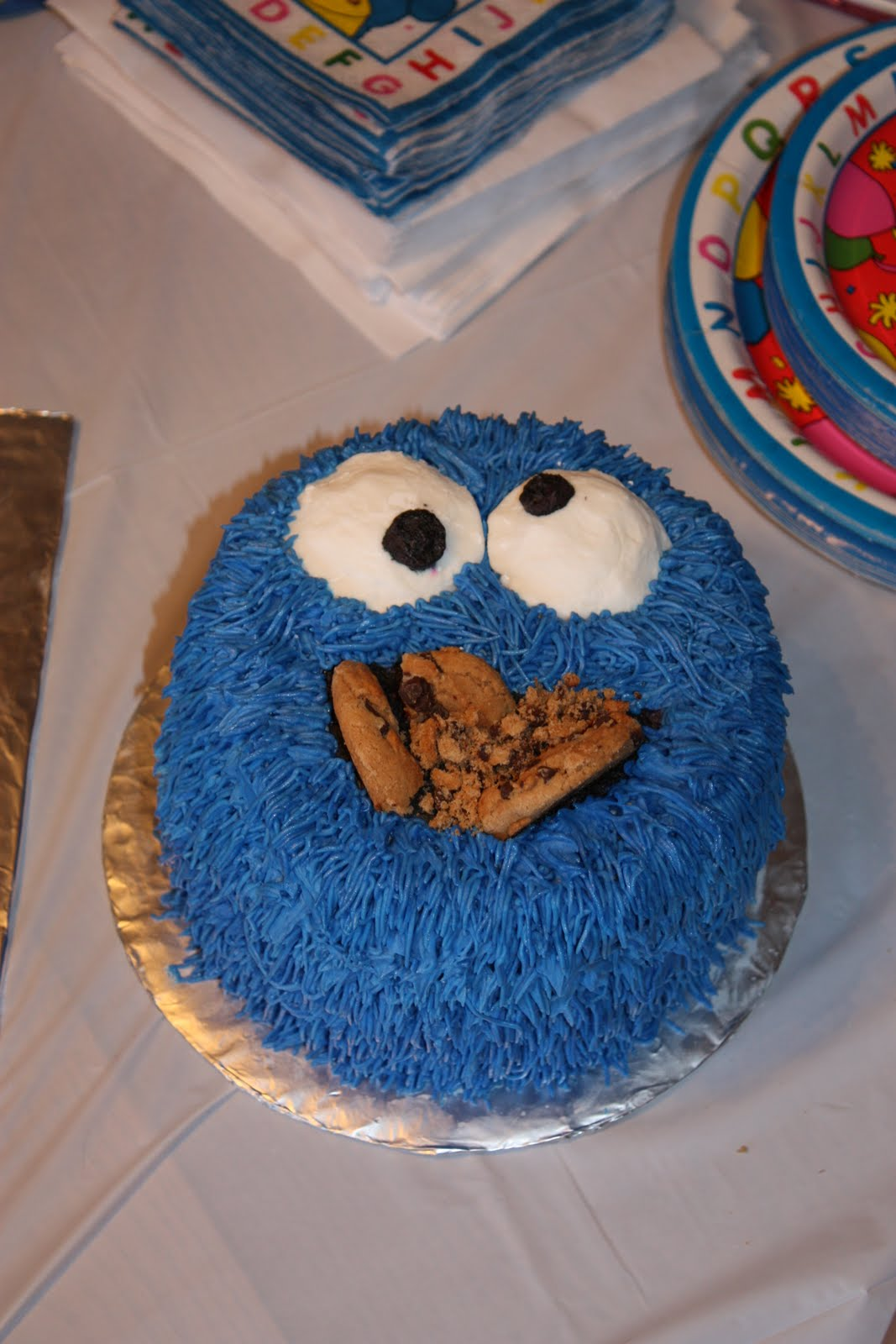 Have Your Cake Amp Eat It Too Cookie Monster Cake And
