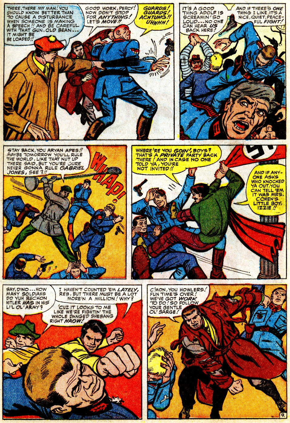 Read online Sgt. Fury comic -  Issue #9 - 13