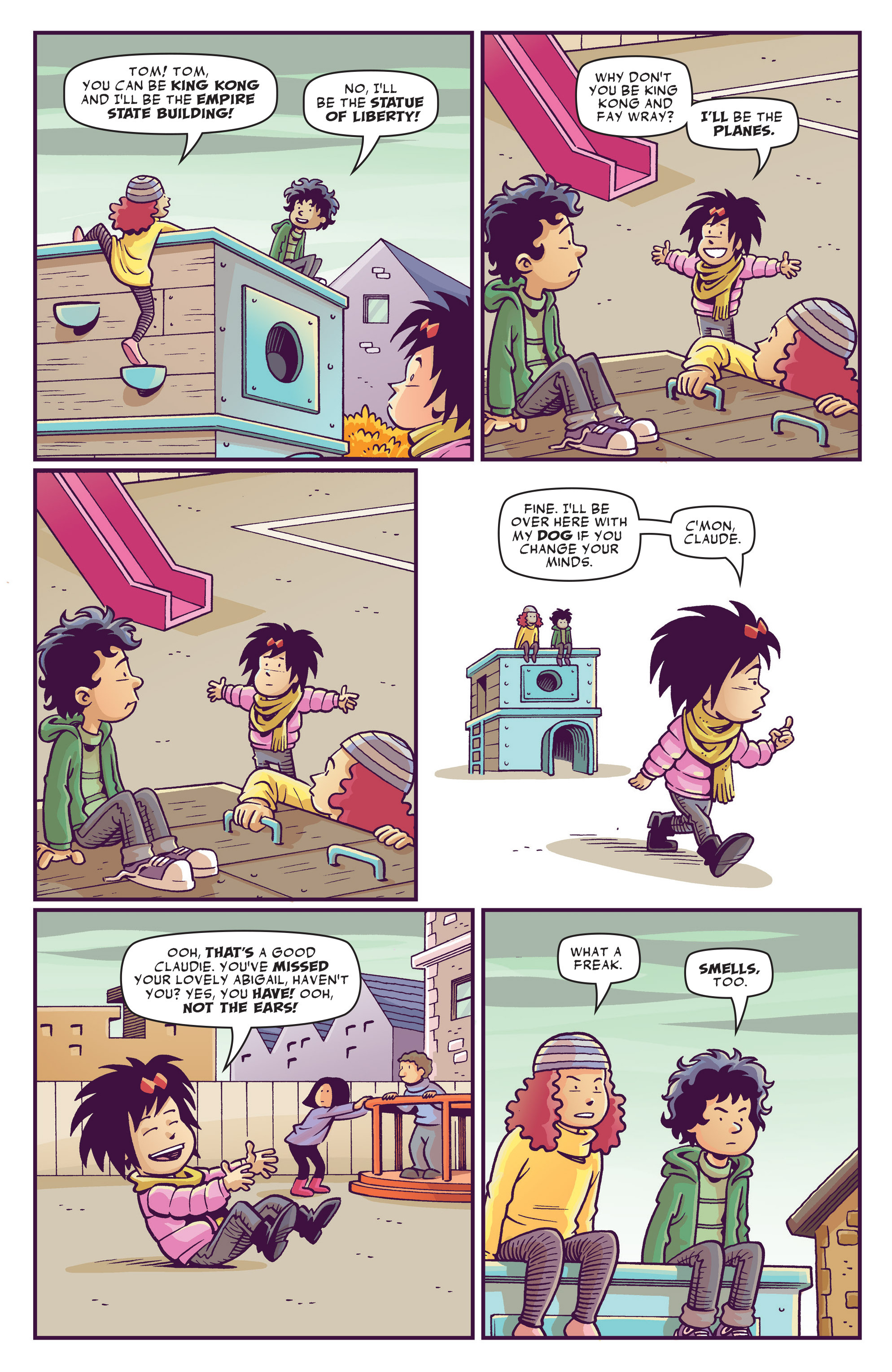 Read online Abigail And The Snowman comic -  Issue #1 - 12