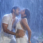 Actors Nitin And Priyamani Drenched Completely In White Dresses For A  Rain Song In Dhrona 2