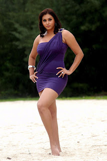 Hottest Pics Of Sexy South Indian Babe Namitha In Purple Dress From  The Latest Telugu Flick Billa – Exclusive Hq Photos Gallery…