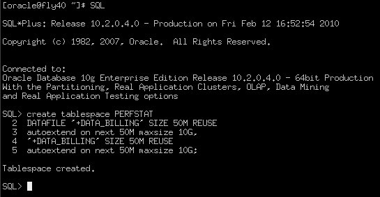 Database administrator workshop: How to install Oracle STATSPACK