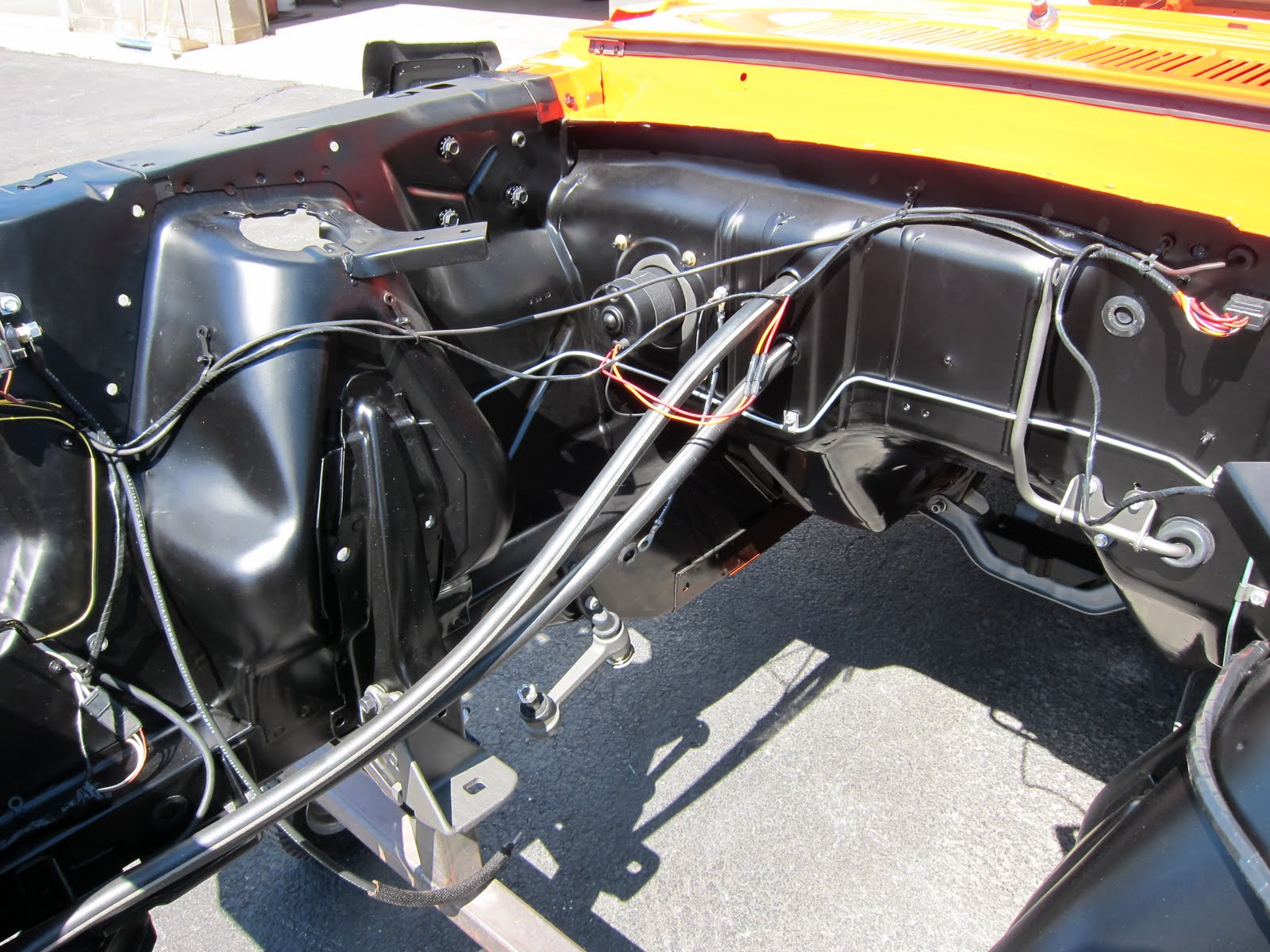 Mustang Wiring Harness On 1965 Mustang Engine Compartment Wiring
